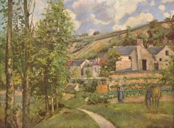"""C. P. (1874)  """"Paisatge a Pontoise"""" –  Winterthur, Fundació Oskar Reinhart"""