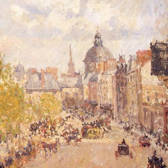 C. P. (1903)  [Quai Malaquais, Tarda assolellada]. Hermitage Museum